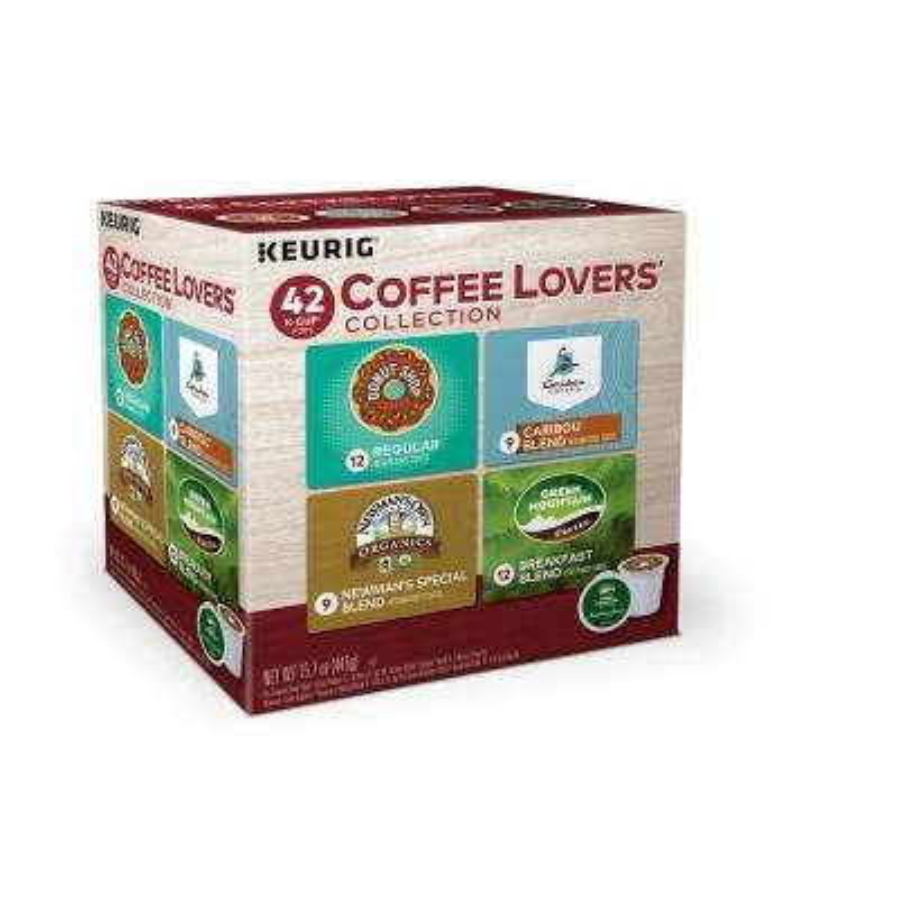 Medium Roast Coffee Lovers K Cup Collection (42-Piece)