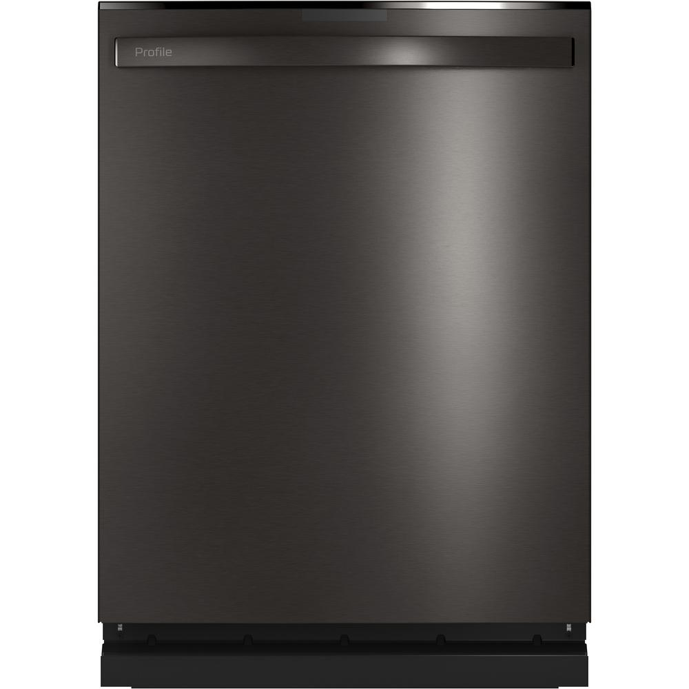 GE Profile Top Control Tall Tub Dishwasher in Black Stainless Steel with Stainless Steel Tub and Steam Cleaning, 45 dBA