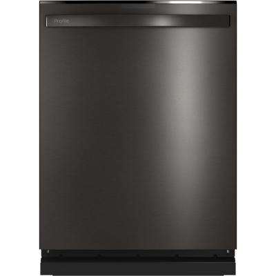 Profile Top Control Tall Tub Dishwasher in Black Stainless Steel with Stainless Steel Tub and Steam Cleaning, 45 dBA