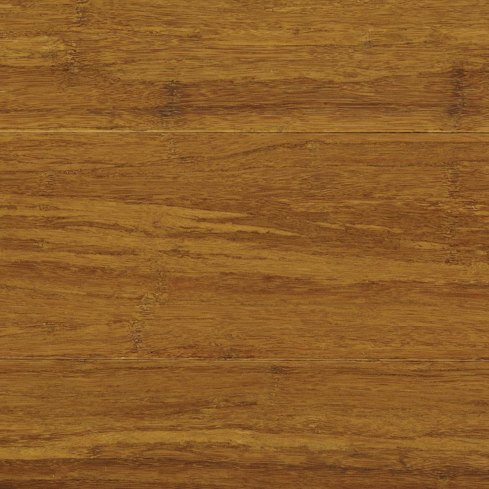 Take Home Sample - Strand Woven Harvest Solid Bamboo Flooring - 5 in. x 7 in.