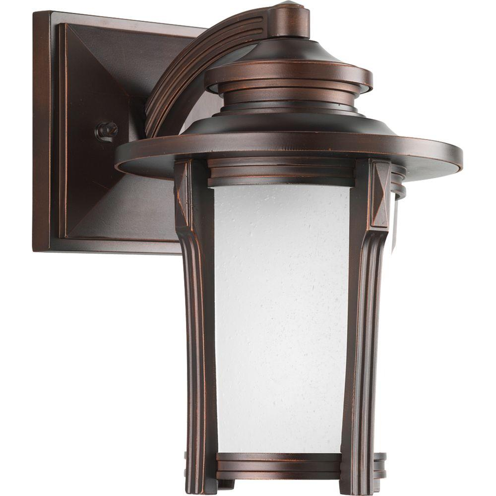 Progress Lighting Pedigree Collection Outdoor Autumn Haze Wall Lantern