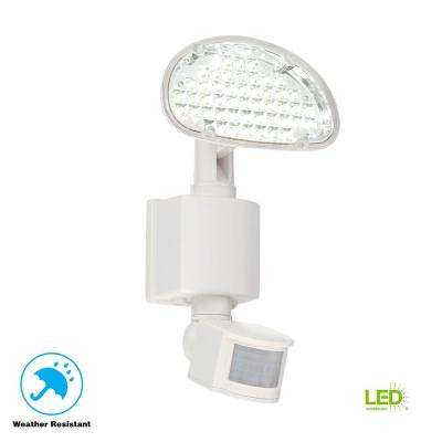 Solar 48-Light 180-Degree White Motion Activated Outdoor Integrated LED Area Light