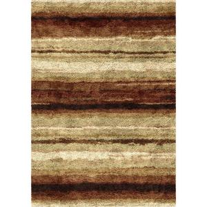 Orian Rugs Rural Road Red 5 ft. 3 inch x 7 ft. 6 inch Indoor Area Rug by Orian Rugs