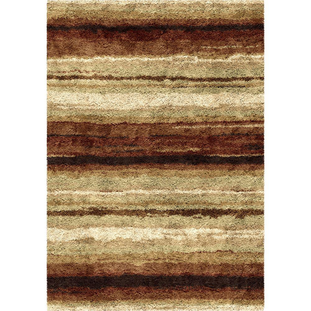 Orian Rugs Rural Road Red 7 Ft. 10 In. X 10 Ft. 10 In