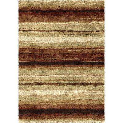 Rural Road Red 8 ft. x 11 ft. Indoor Area Rug