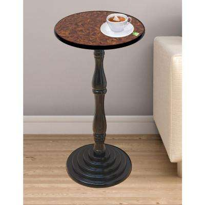 Brown End Table