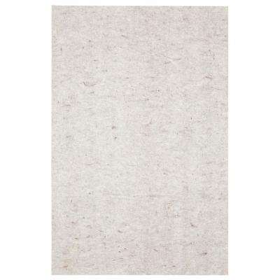 Complete Gray 5 ft. x 7 ft. Rug Pad