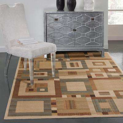 Sonoma Austin Beige 7 ft. 10 in. x 11 ft. 2 in. Area Rug