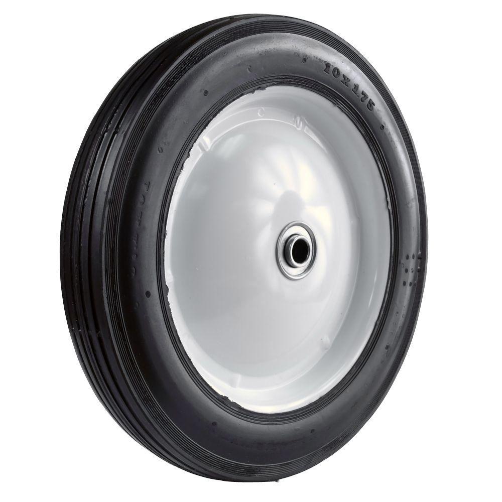 Martin Wheel 10x1 75 Light Duty Steel Wheel 110 The Home Depot