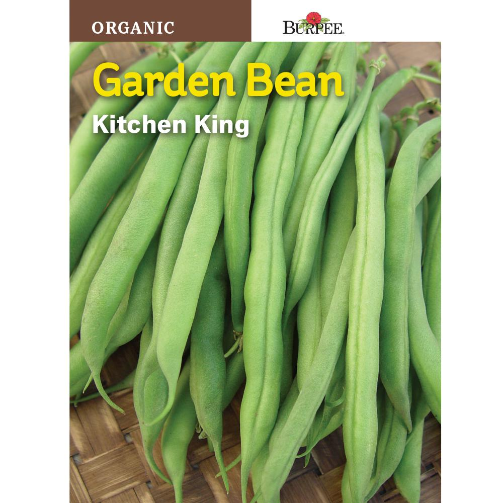 Organic Bean, Bush Kitchen King Seed