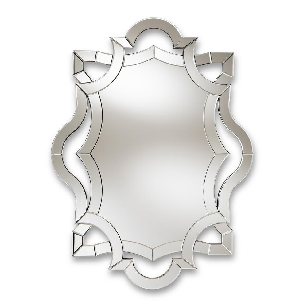 Colina Antique Silver Wall Mirror