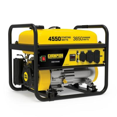 4550/3650-Watt Recoil Start Gasoline RV Ready Portable Generator (CARB)