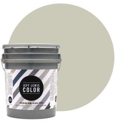 5-gal. #JLC211 Canvas Semi-Gloss Ultra-Low VOC Interior Paint