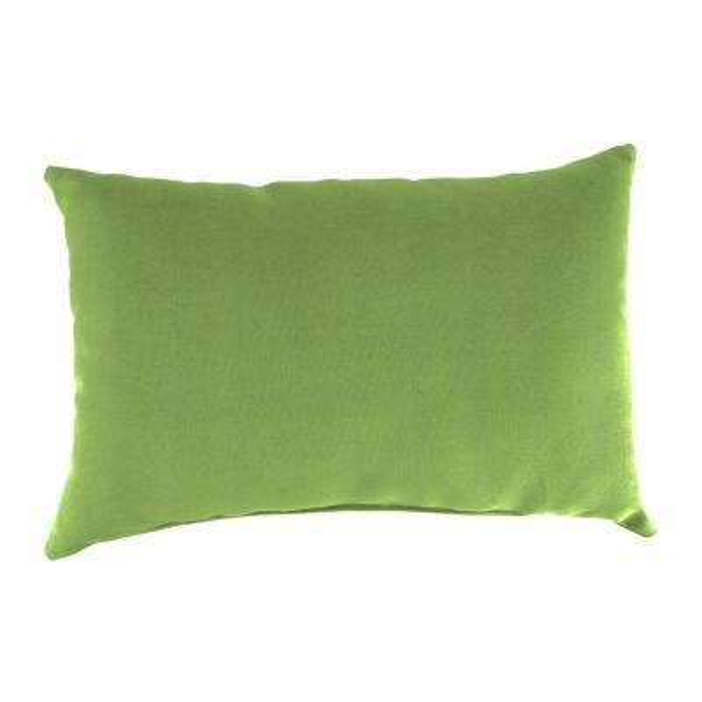 Sunbrella 9 in. x 22 in. Canvas Gingko Lumbar Outdoor Pillow