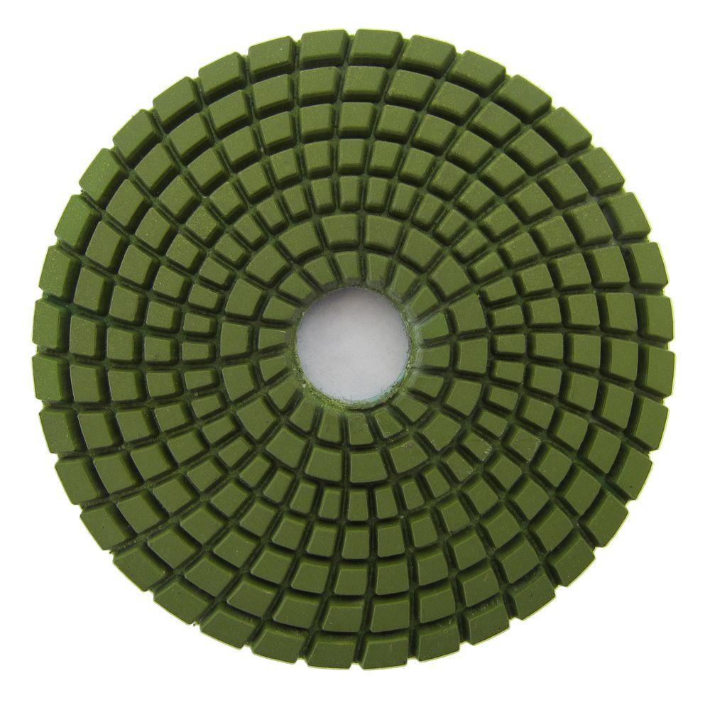 Archer USA 4 in. #1500 Grit Wet Diamond Polishing Pad for Stone