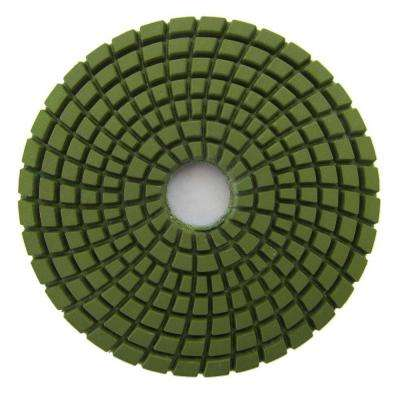 4 in. #1500 Grit Wet Diamond Polishing Pad for Stone