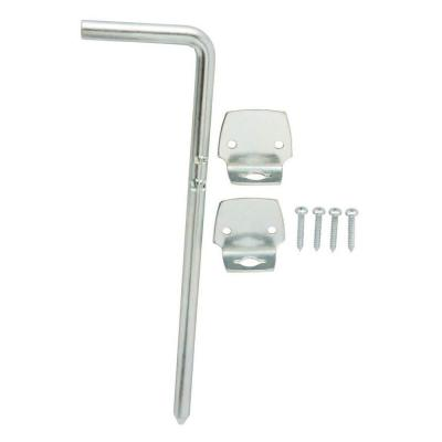 12 in. Zinc-Plated Cane Bolt