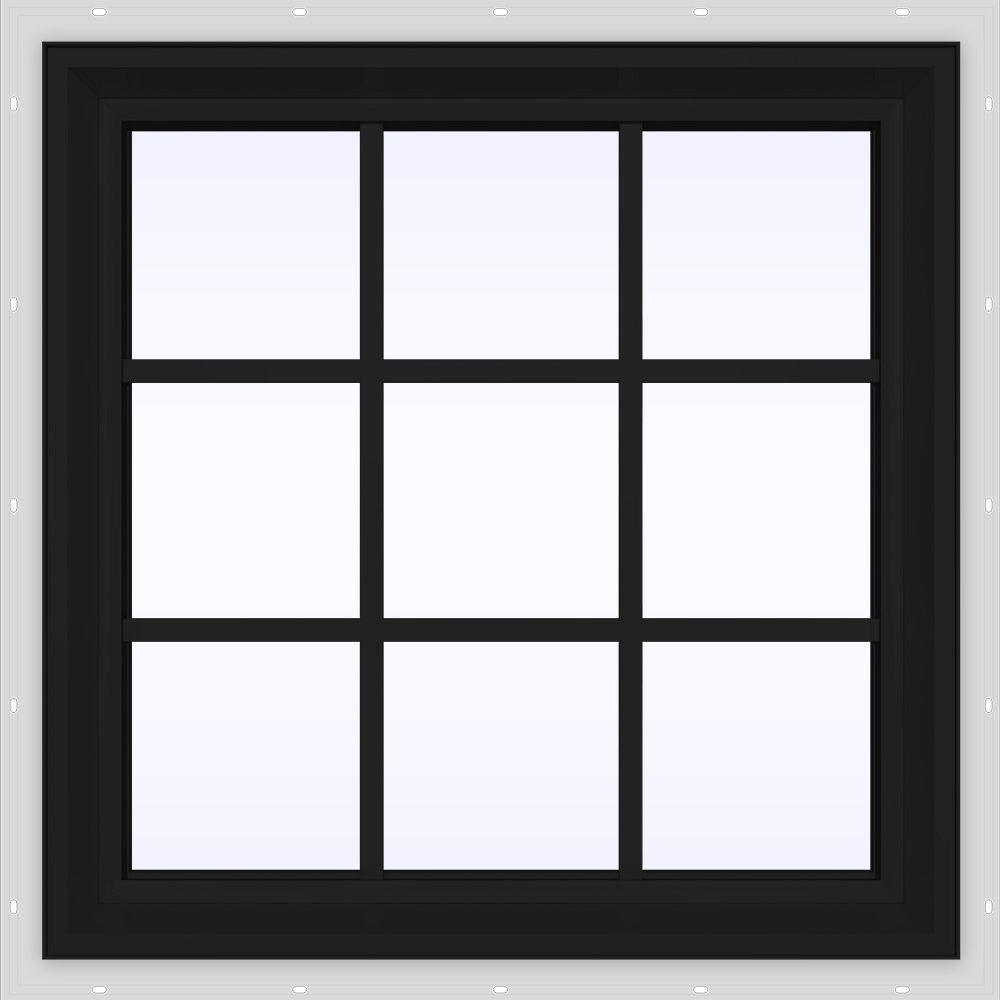 29.5 in. x 29.5 in. V-2500 Series Fixed Picture Vinyl Window