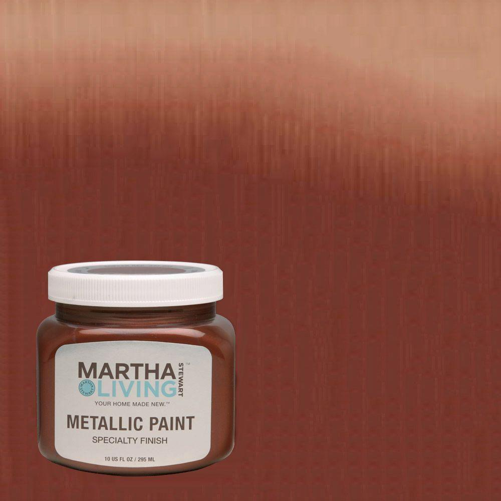 Martha Stewart Living 10 Oz. Copper Red Metallic Paint (4 Pack) 259284    The Home Depot