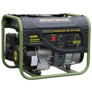 Deals on Sportsman 2,000/1,400-W Dual Fuel Powered Portable Generator