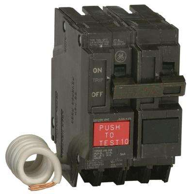 30 Amp Double Pole Ground Fault Breaker with Self-Test