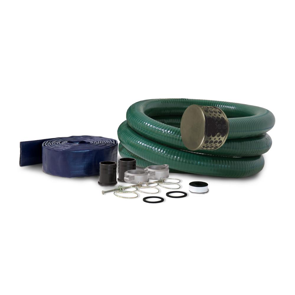 3 in. Hose Adapter Kit for 3 in. Semi-Trash Water Pump