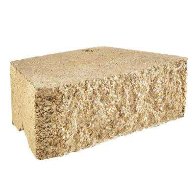 RockWall Small 4 in. x 11.75 in. x 6.75 in. Buff Concrete Retaining Wall Block (144-Piece/46.5 sq. ft./Pallet)