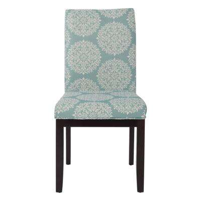 Gabrielle Sky Fabric Dakota Parsons Chair
