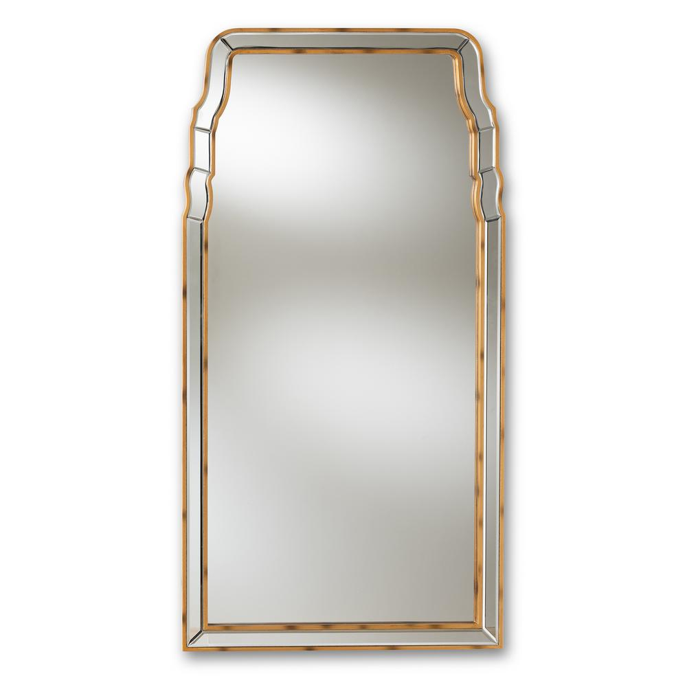3d35ee581f2 Baxton Studio Alice Antique Gold Wall Mirror-150-8892-HD - The Home ...