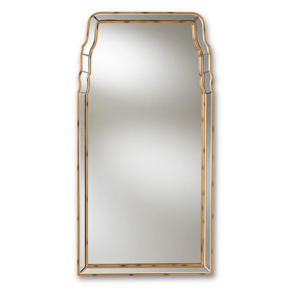 Alice Antique Gold Wall Mirror
