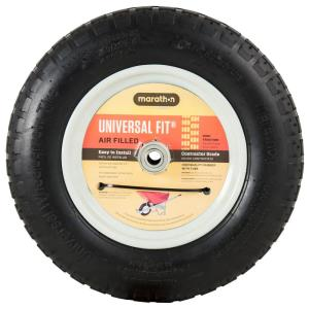 14.5 in. Pneumatic Universal Wheelbarrow Wheels