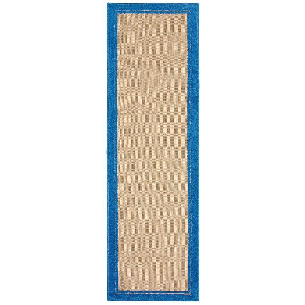 Bondi Blue 2 ft. 3 in. x 7 ft. 6 in.