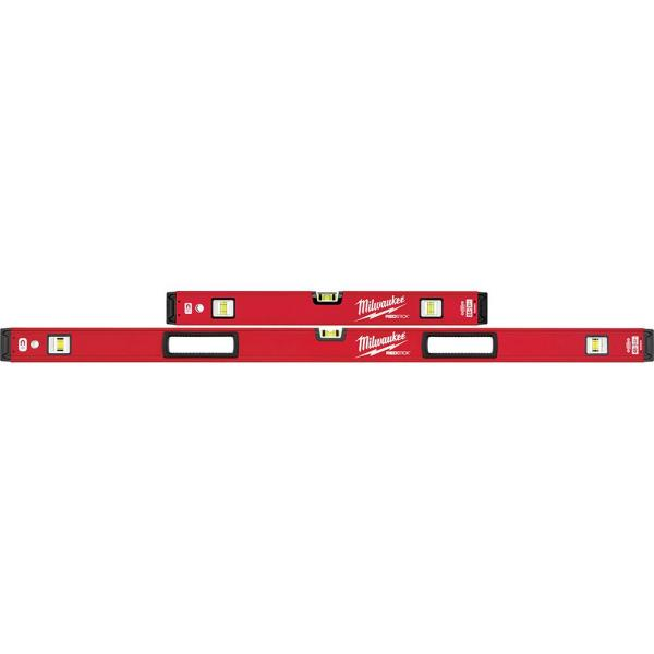 24 in./48 in. REDSTICK Magnetic Box Level Set