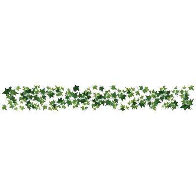Ivy Border Green Wall Decal