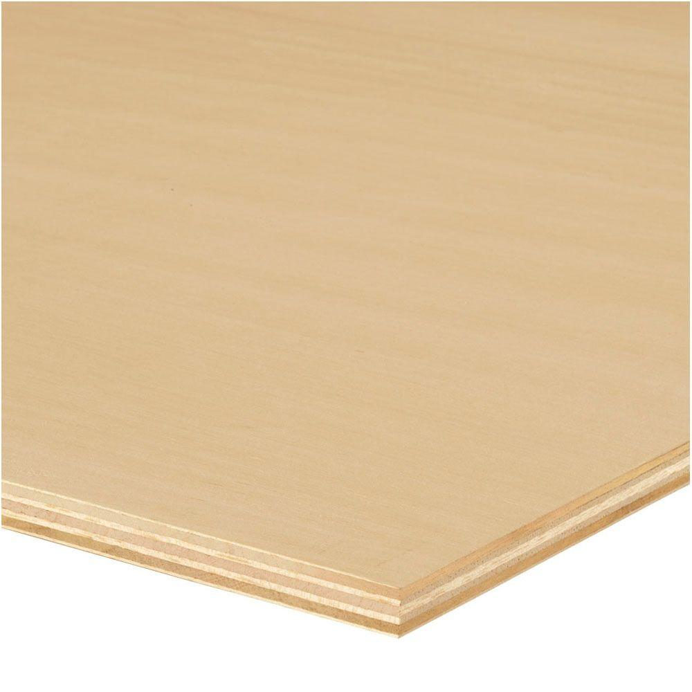 null Sande Plywood (Common: 1/2 in. x 4 ft. x 8 ft.; Actual: 0.472 in. x 48 in. x 96 in.)