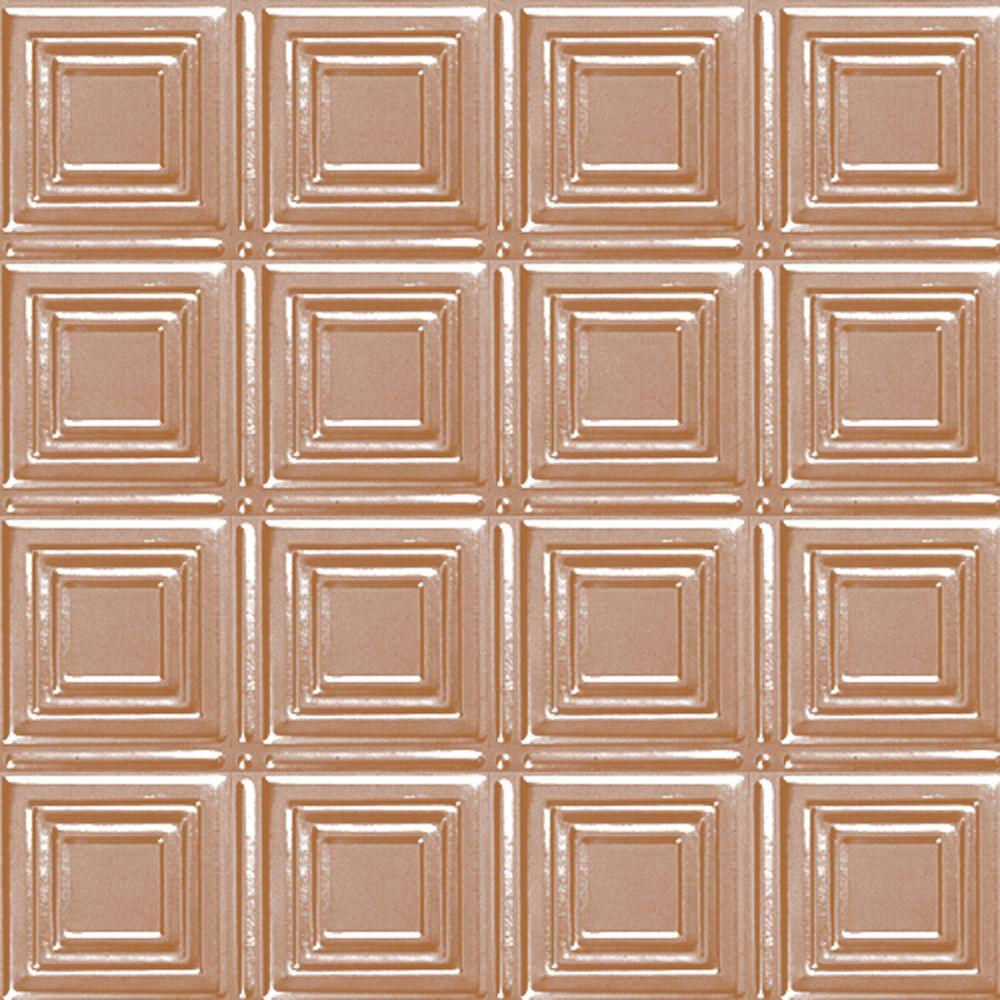 Shanko 2 Ft X 4 Ft Nail Updirect Application Tin Ceiling Tile In