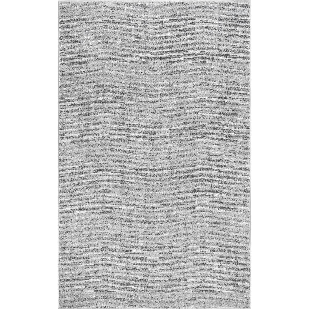 Nuloom Sherill Grey 8 Ft X 10 Area Rug