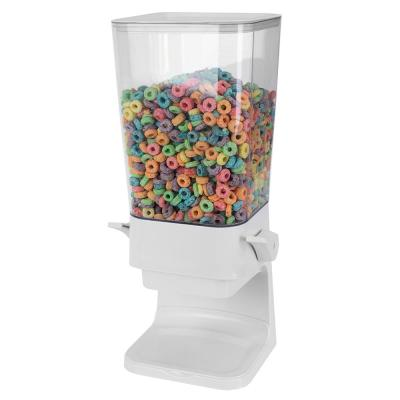 Large Capacity Air-Tight Easy Pour Plastic Cereal Dispenser