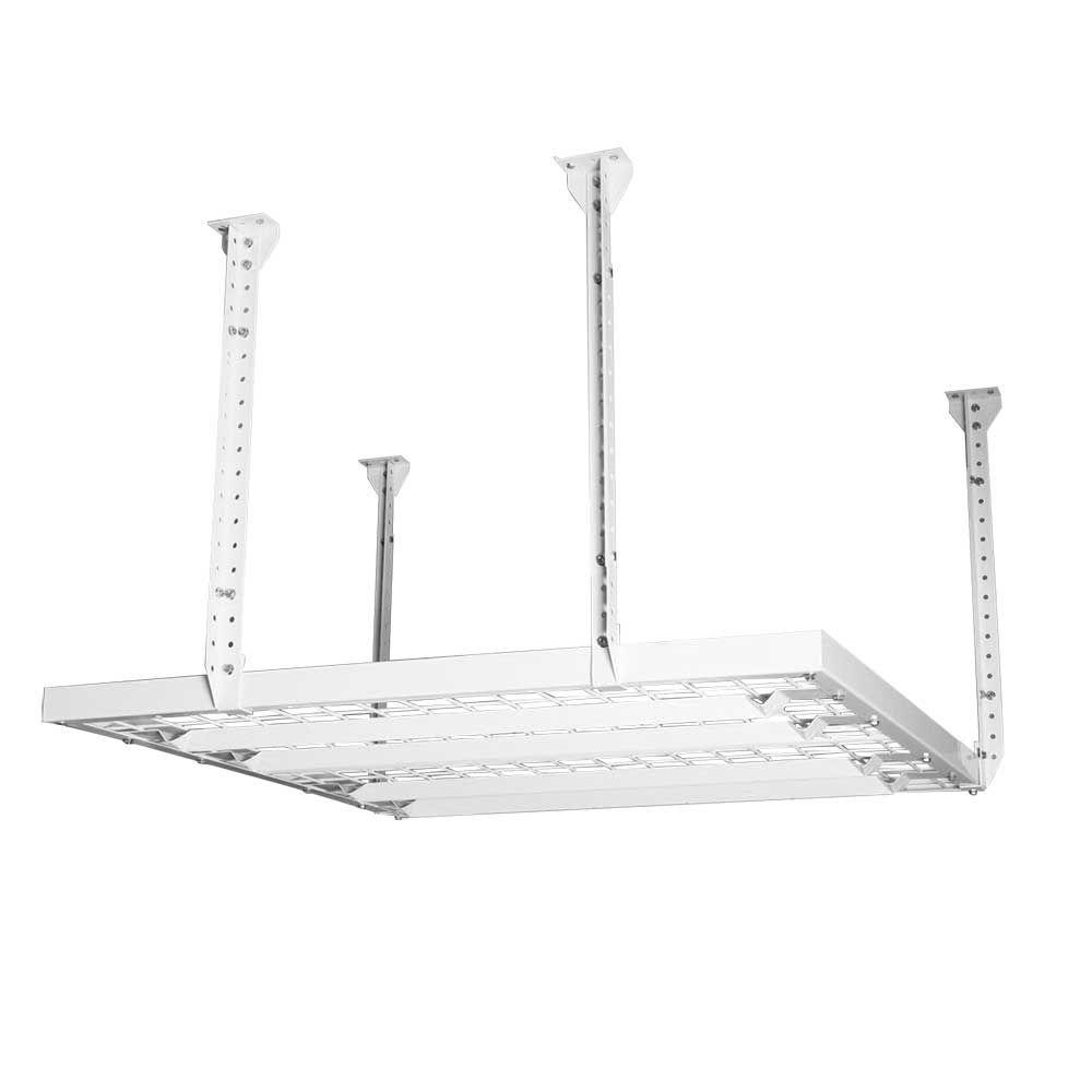 HyLoft 2-Shelf 48 In. W Wire Garage Wall Storage System In