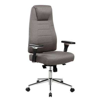 Gray Comfy Height Adjustable Home Executive Office Chair