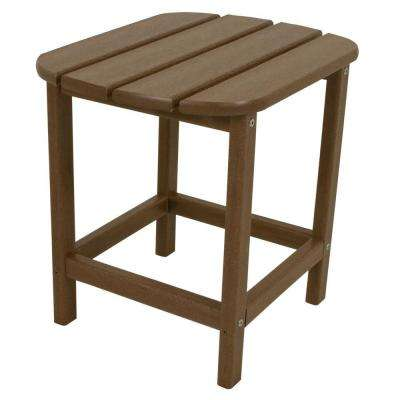 South Beach 18 in. Teak Patio Side Table