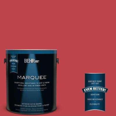 Home Decorators Collection #HDC-FL13-1 Glowing Scarlet Exterior Paint
