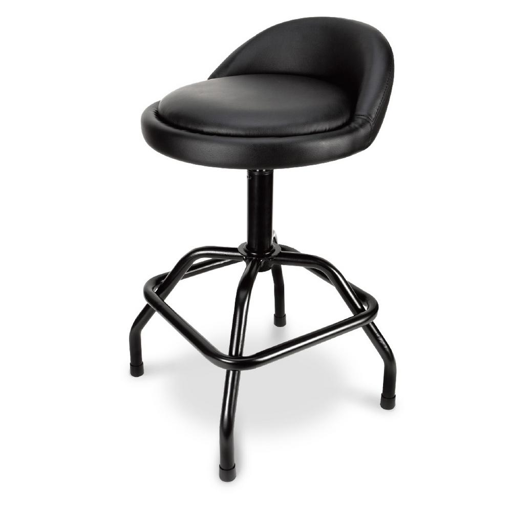 Stupendous Pneumatic Swivel Metal Bar Stool With Low Back Support Uwap Interior Chair Design Uwaporg