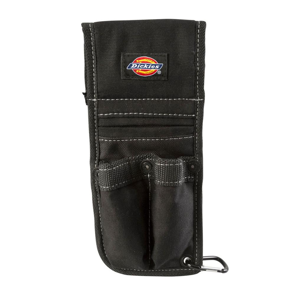 3-Pocket Tool Belt Pouch / Accessory Holder in Black