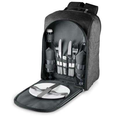 Colorado Grey Wood Picnic Cooler Backpack