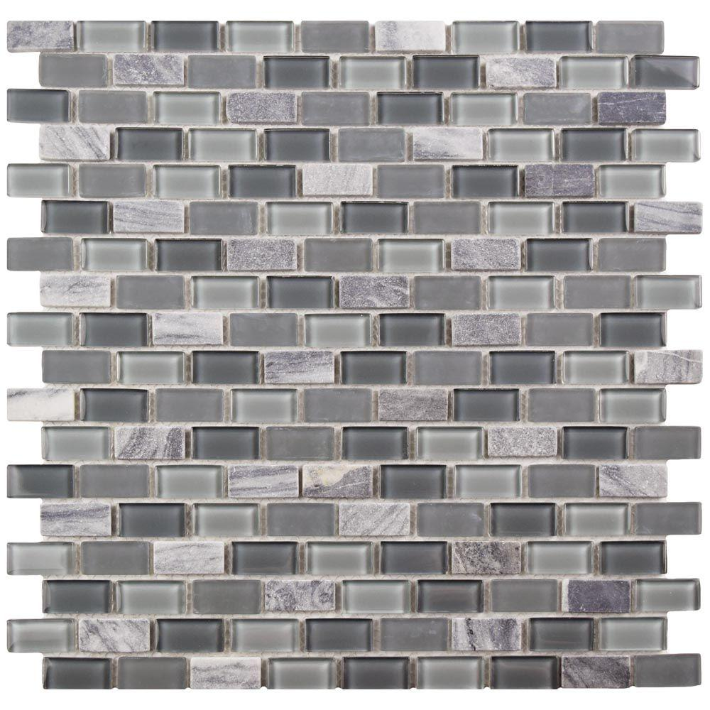 Merola Tile Spectrum Mini Subway Fortress 11 14 In X 11 34 In X