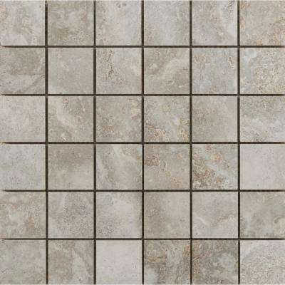 Lucerne Matterhorn 12.99 in. x 12.99 in. x 10mm Porcelain Mesh-Mounted Mosaic Tile