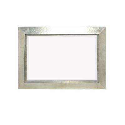 Silver Wood Wall Mirror