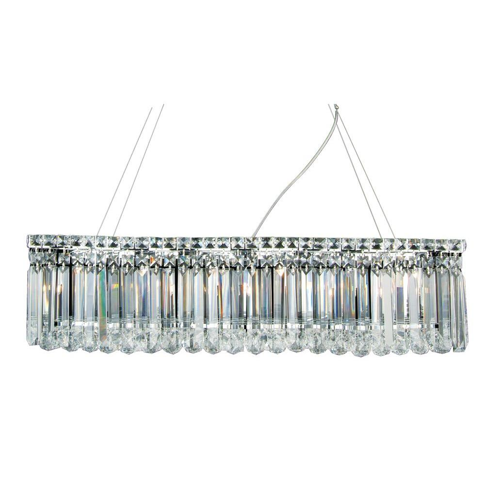 Filament Design Xavier 6-Light Chrome Pendant
