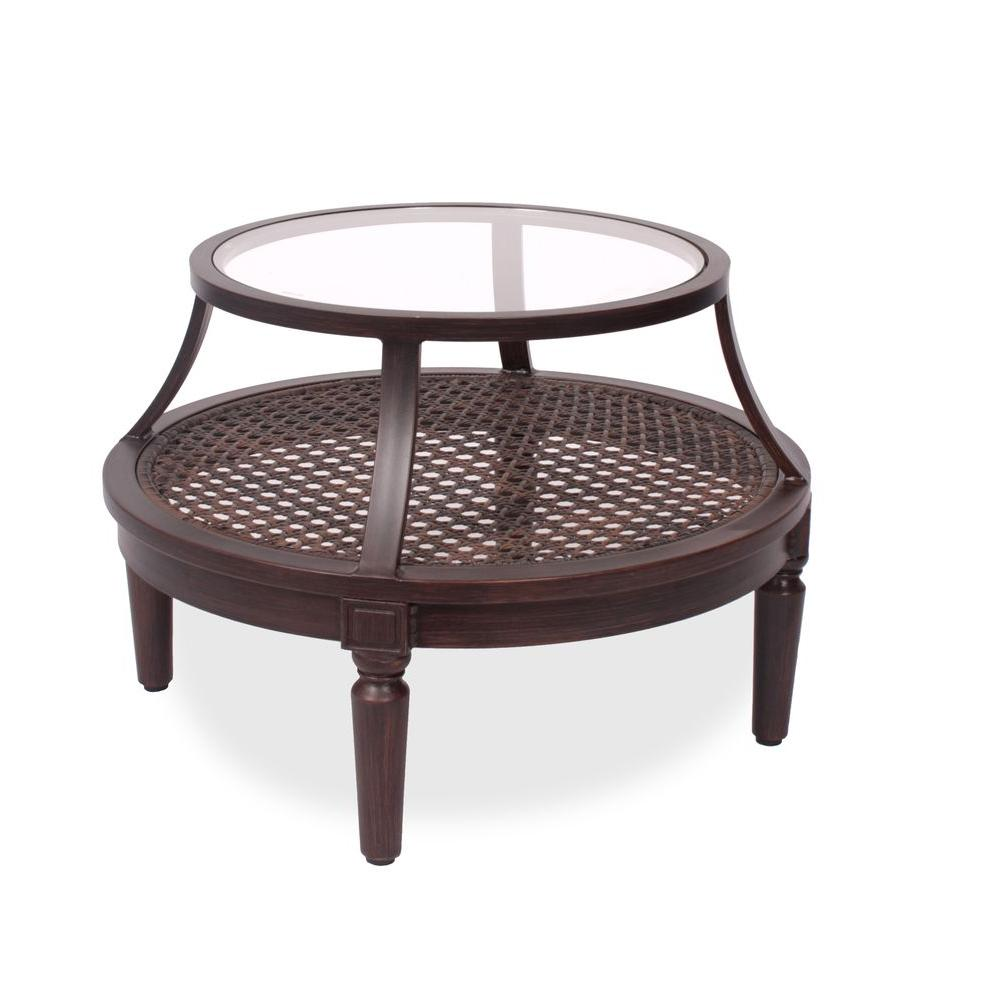 Thomasville Southpointe 32 in. Patio Accessory Table-DISCONTINUED